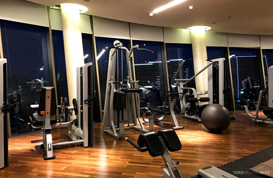 JW Marriott Absheron Hotel Baku gym utstyr