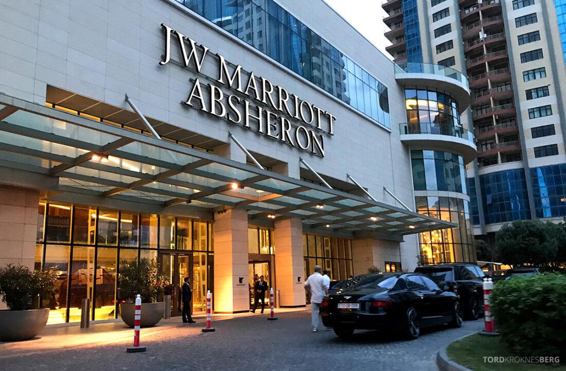JW Marriott Absheron Hotel Baku hovedinngang