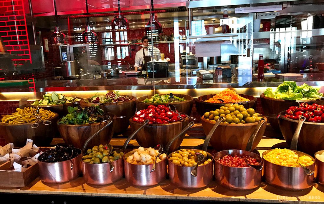 JW Marriott Absheron Hotel Baku grønnsaker