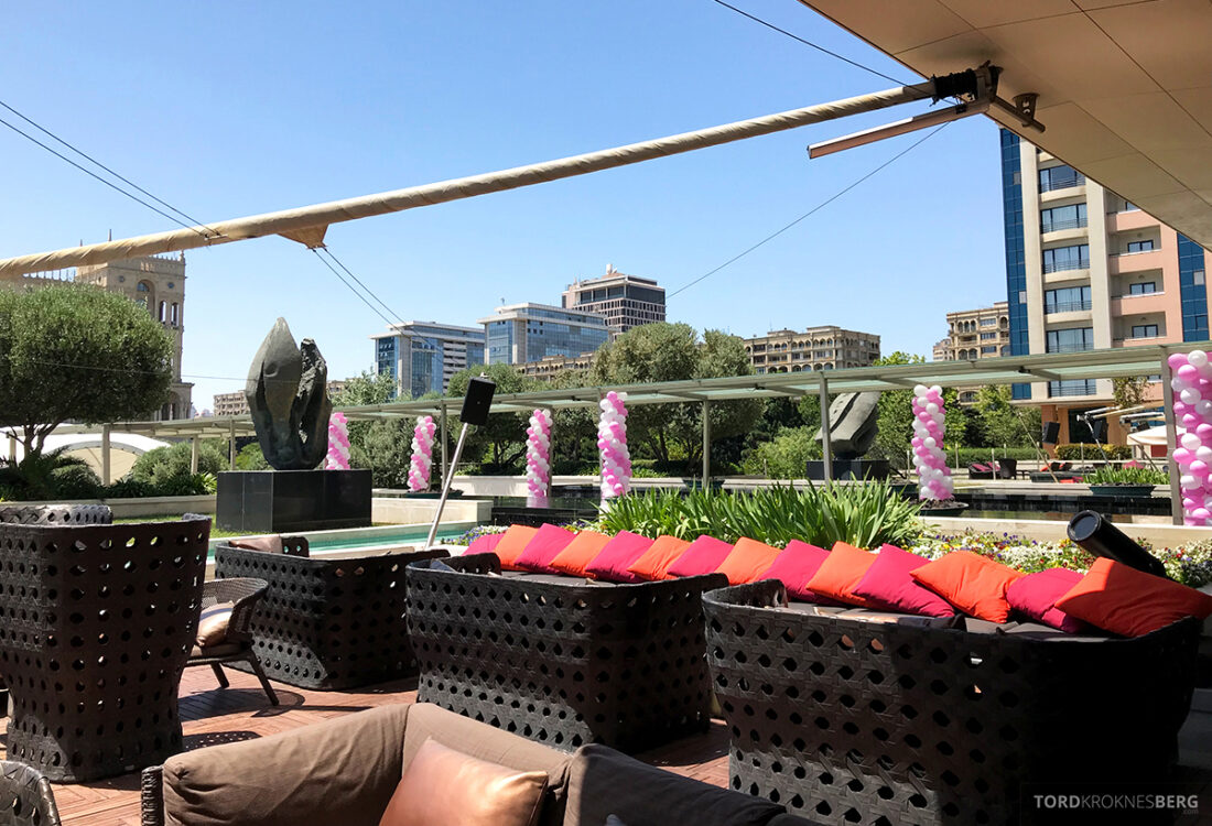 JW Marriott Absheron Hotel Baku bespisning ute