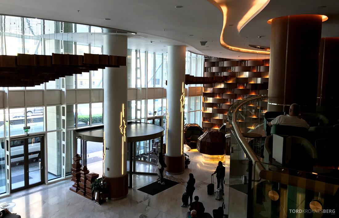 JW Marriott Absheron Hotel Baku lobby oversikt