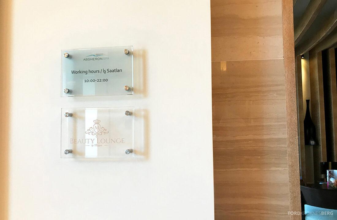 JW Marriott Absheron Hotel Baku spa