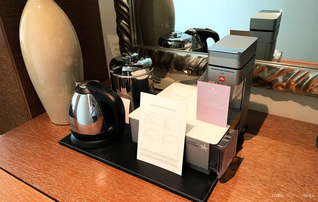 JW Marriott Absheron Hotel Baku kaffemaskin