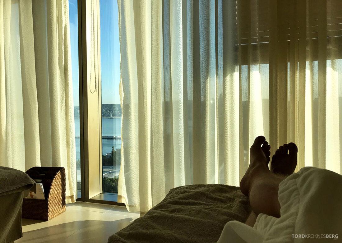 JW Marriott Absheron Hotel Baku spa venterom