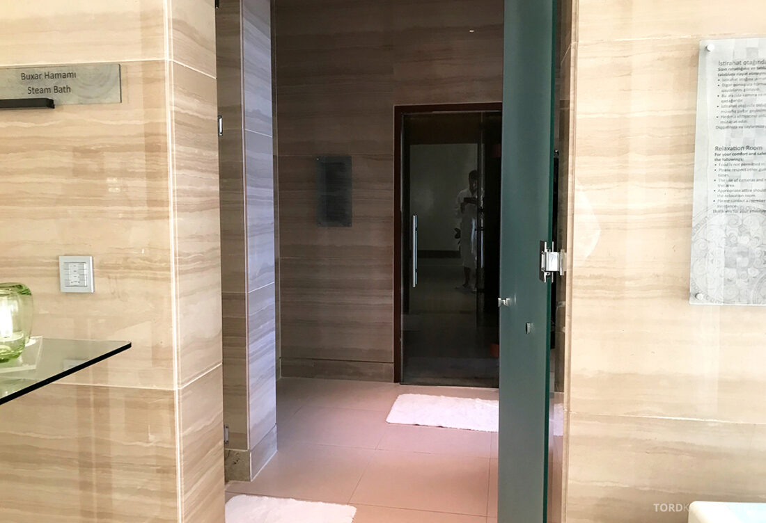 JW Marriott Absheron Hotel Baku spa-avdeling