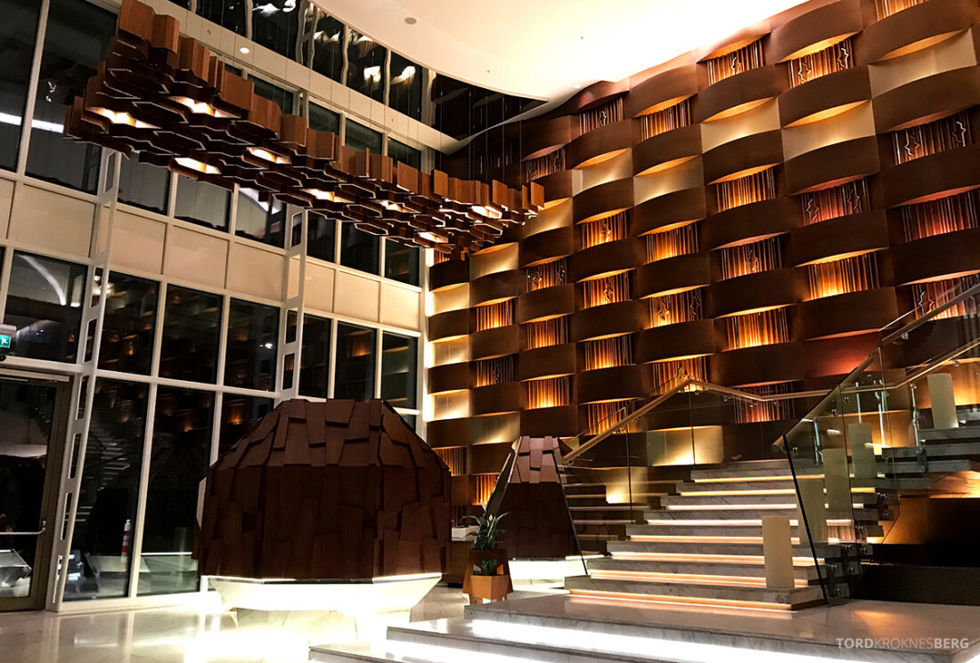 JW Marriott Absheron Hotel Baku lobby
