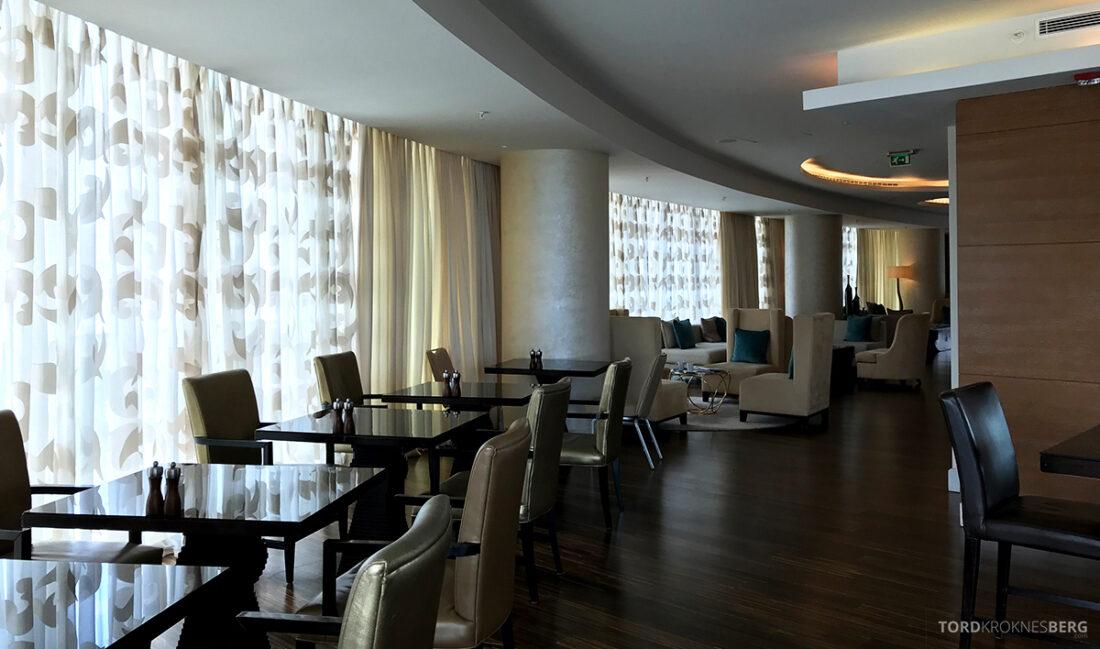 JW Marriott Absheron Hotel Baku Executive Lounge sitteplasser
