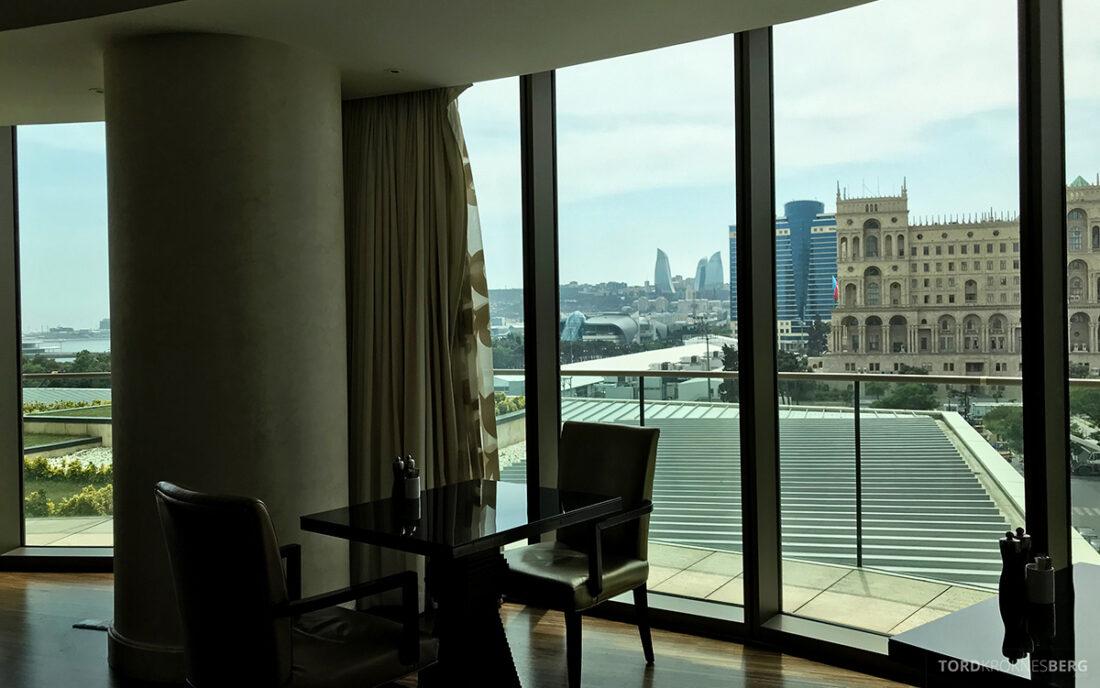 JW Marriott Absheron Hotel Baku Executive Lounge utsikt