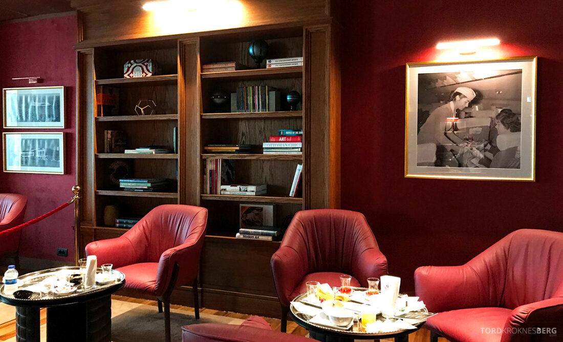 Miles&Smiles Lounge Istanbul detaljer
