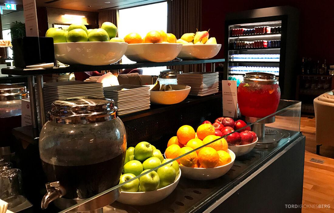 Miles&Smiles Lounge Istanbul frukt