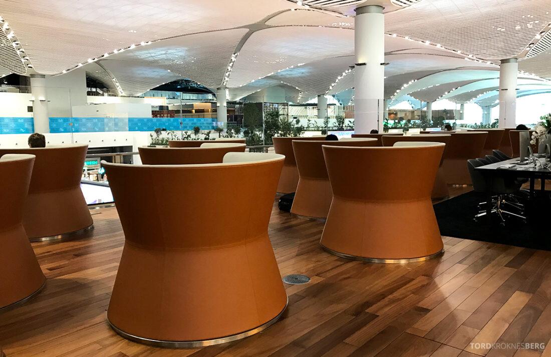 Miles&Smiles Lounge Istanbul sitteplasser
