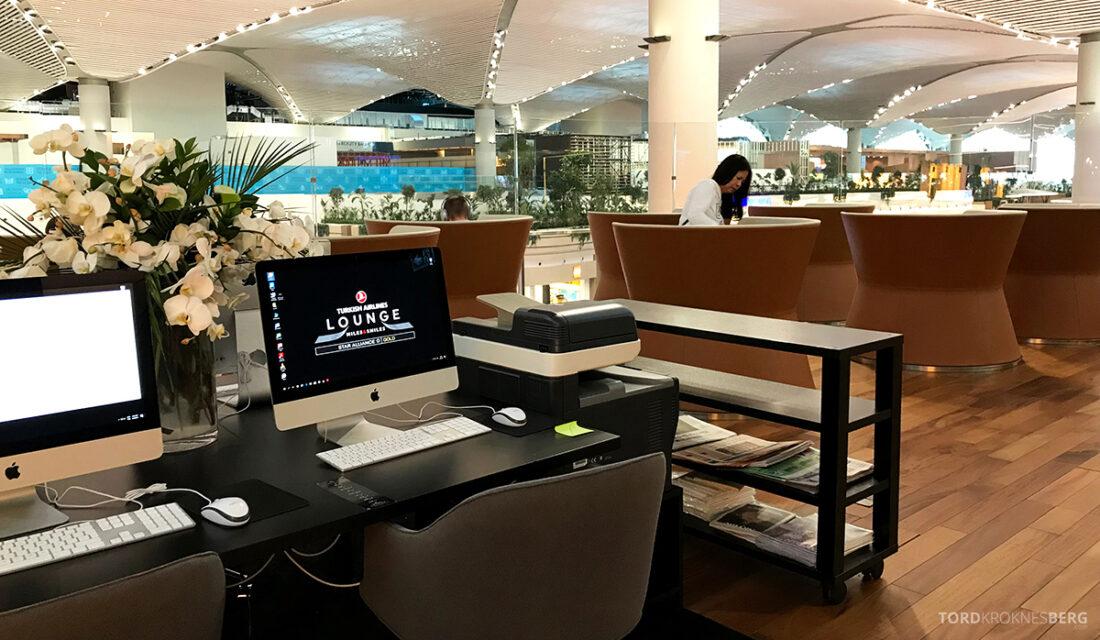 Miles&Smiles Lounge Istanbul kontor