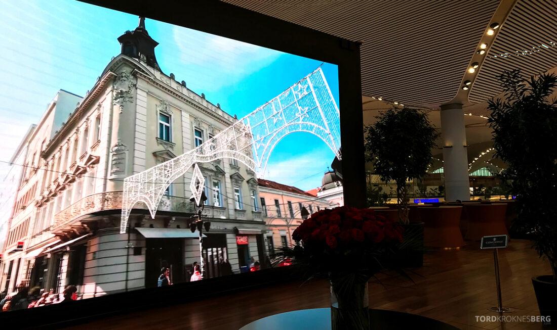 Miles&Smiles Lounge Istanbul velkomstskjerm