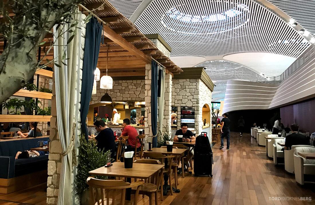 Miles&Smiles Lounge Istanbul interiør