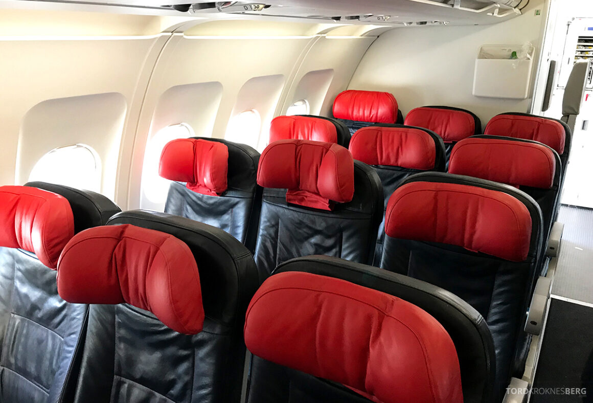 Turkish Airlines Economy Class Istanbul Baku seter