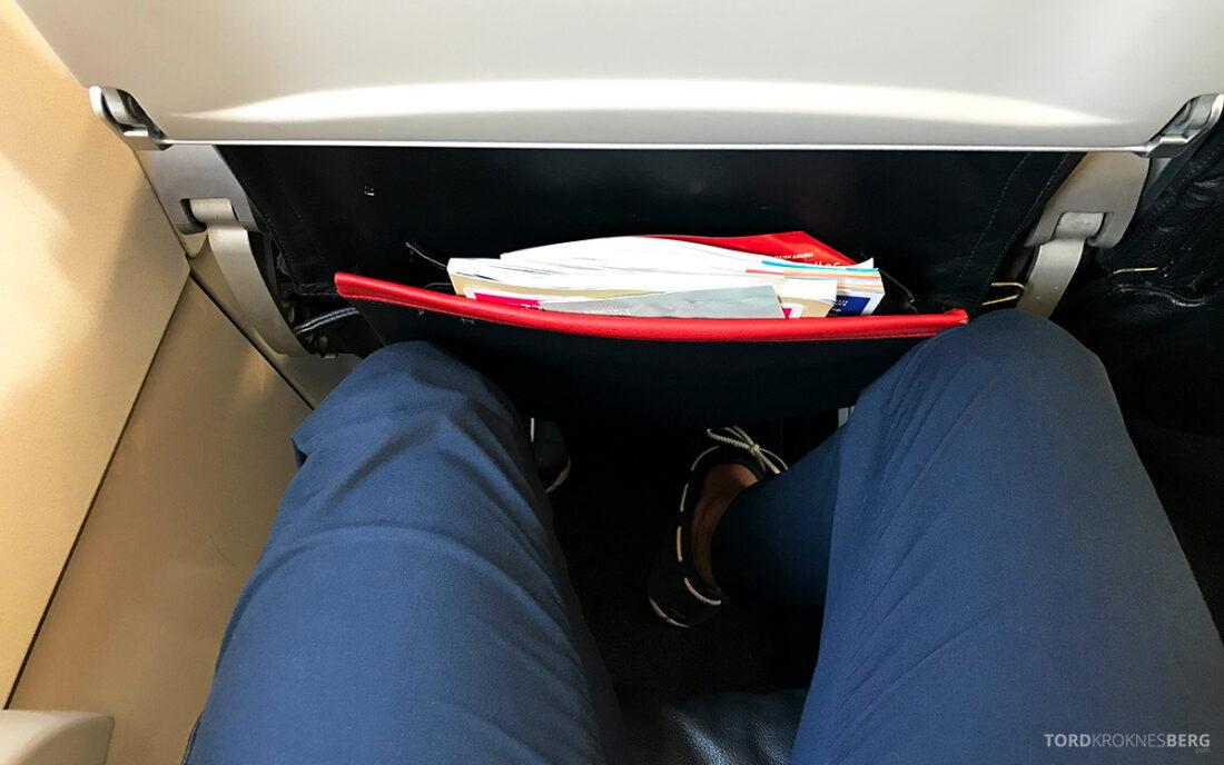 Turkish Airlines Economy Class Istanbul Baku benplass