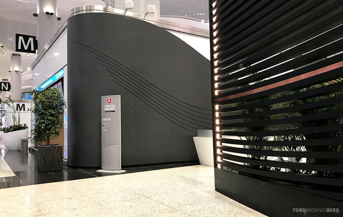 Turkish Airlines Economy Class Istanbul Baku innsjekk inngang