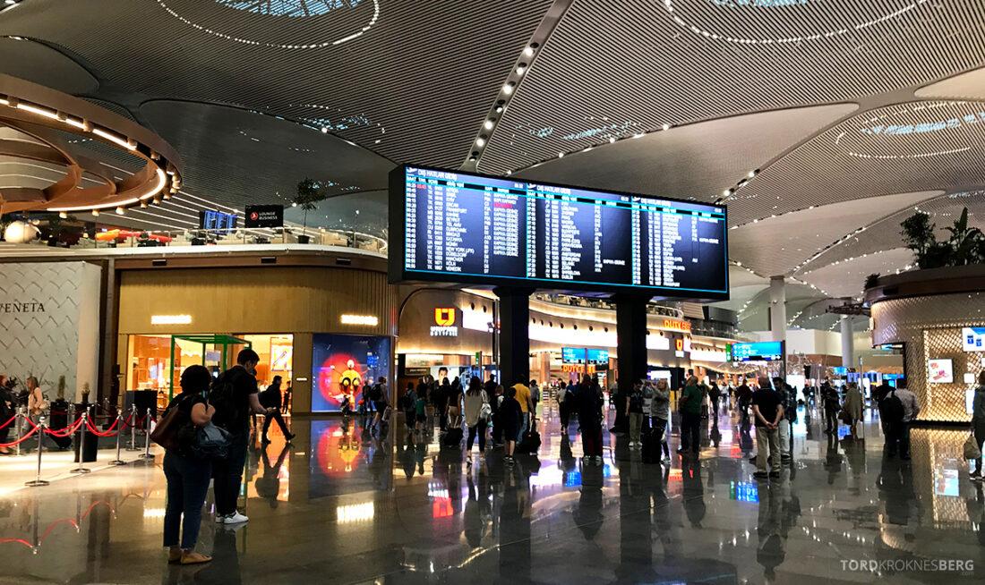 Turkish Airlines Economy Class Istanbul Baku terminal IST