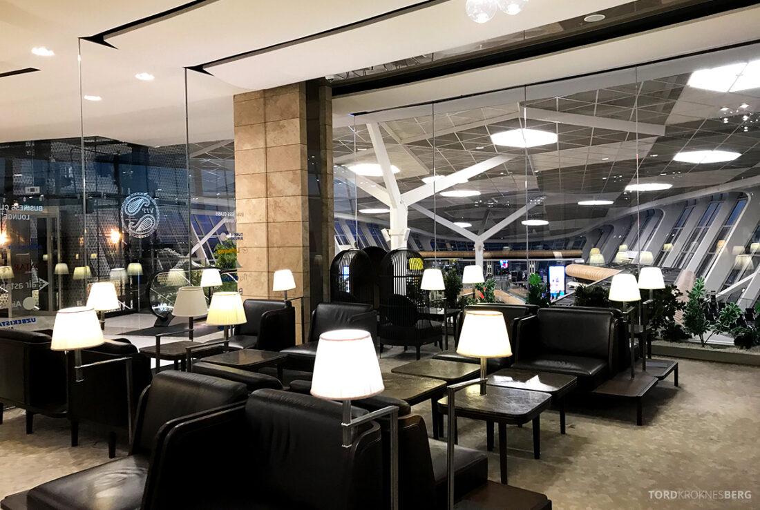 Business Class Lounge Baku sitteplasser