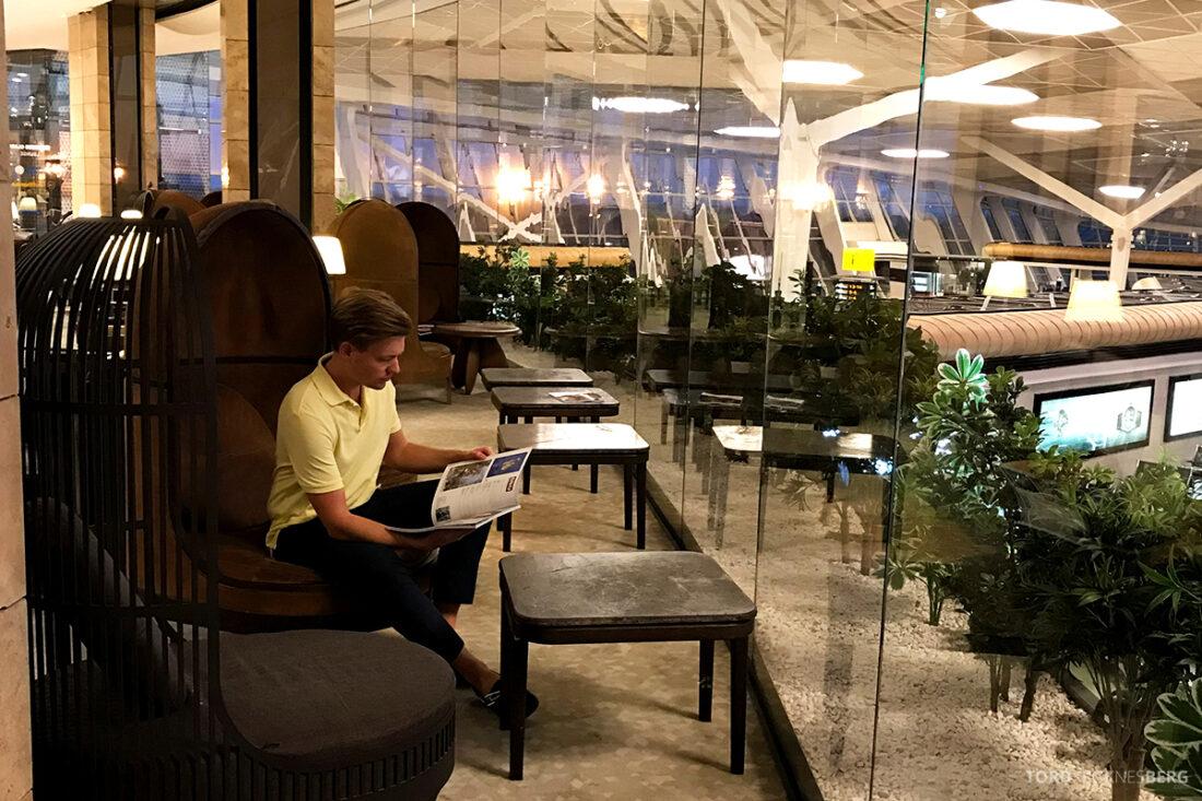 Business Class Lounge Baku Tord Kroknes Berg