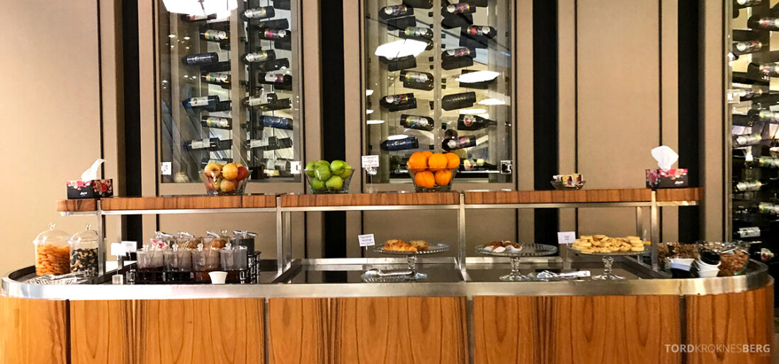 Business Class Lounge Baku buffet