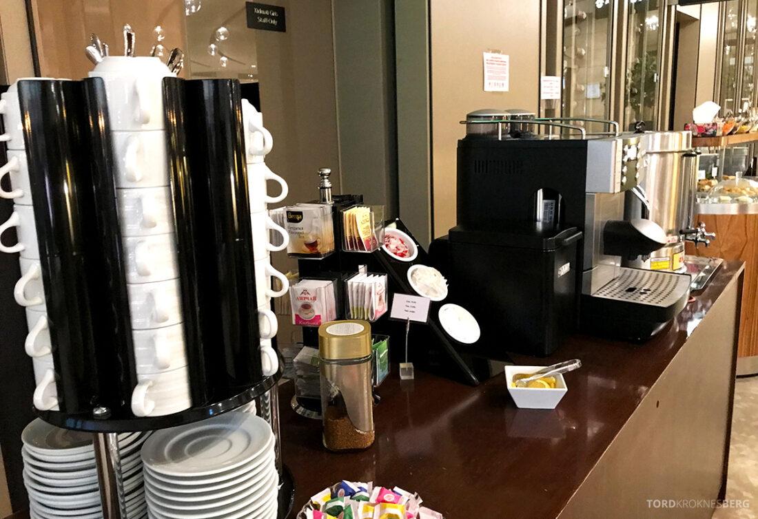 Business Class Lounge Baku kaffe