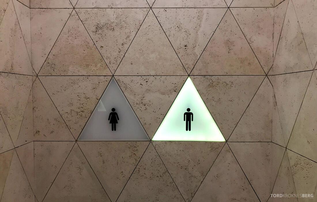 Business Class Lounge Baku inngang toalett