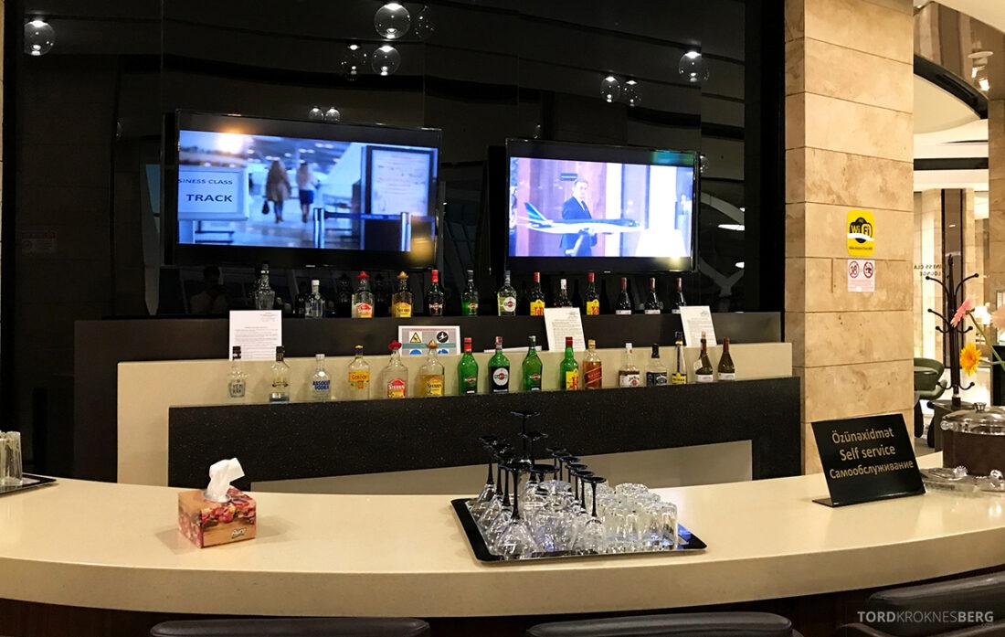 Business Class Lounge Baku bar