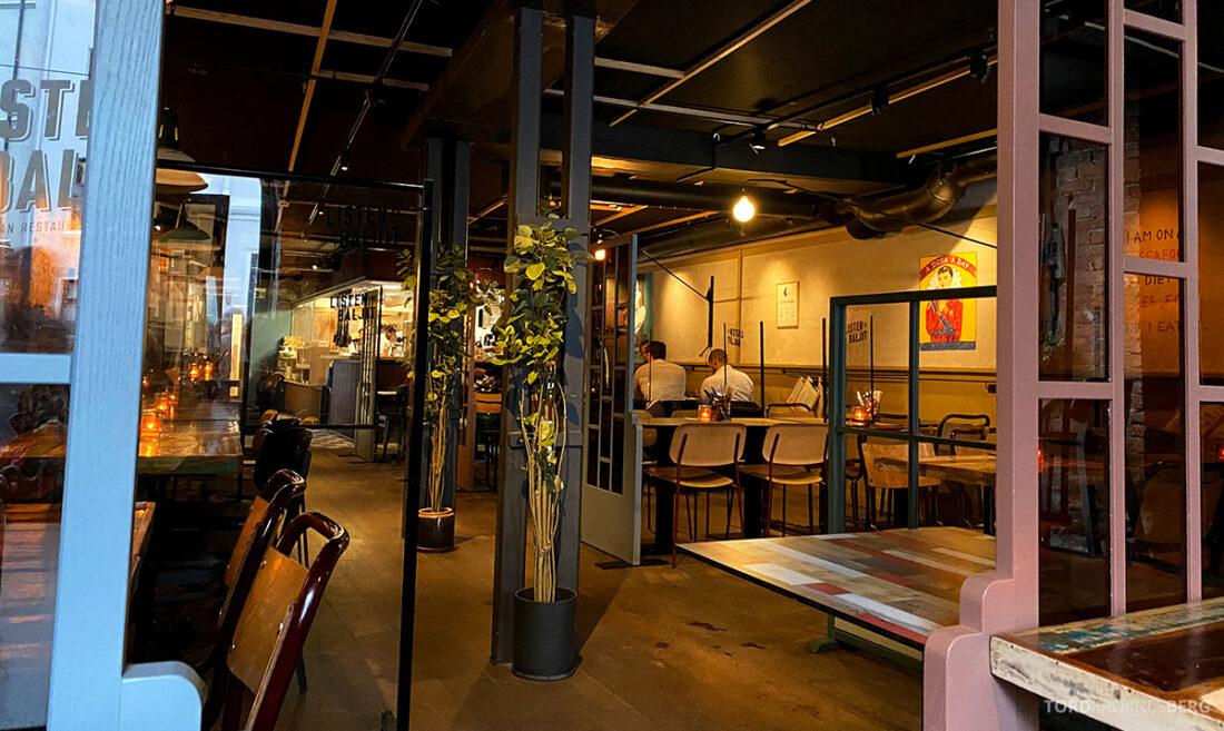 Listen To Baljit Restaurant Frogner Oslo lokale