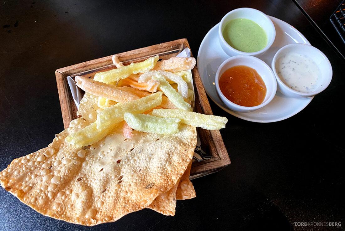 Listen To Baljit Restaurant Frogner Oslo snacks