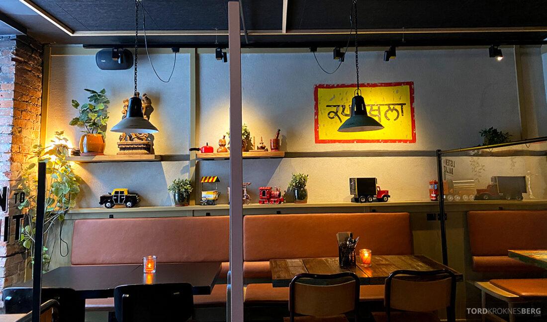 Listen To Baljit Restaurant Frogner Oslo bord