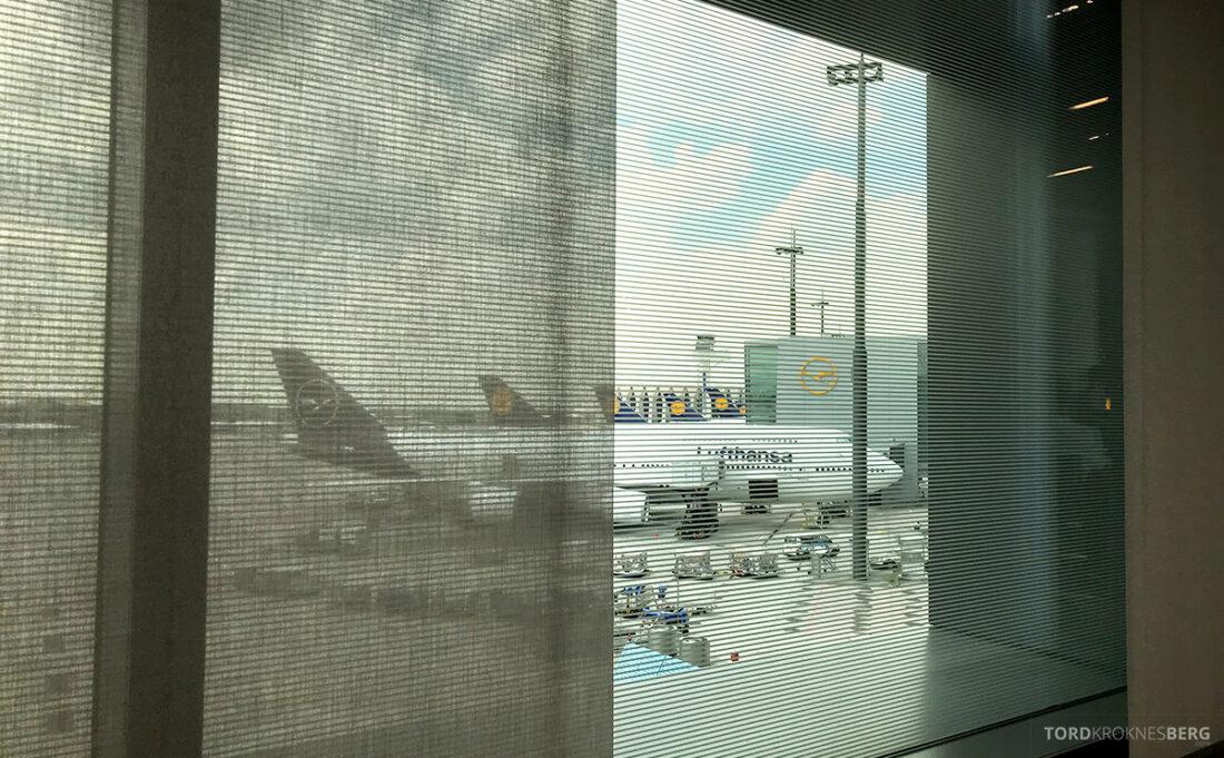 Lufthansa Premium Economy Class Oslo Frankfurt Los Angeles 747