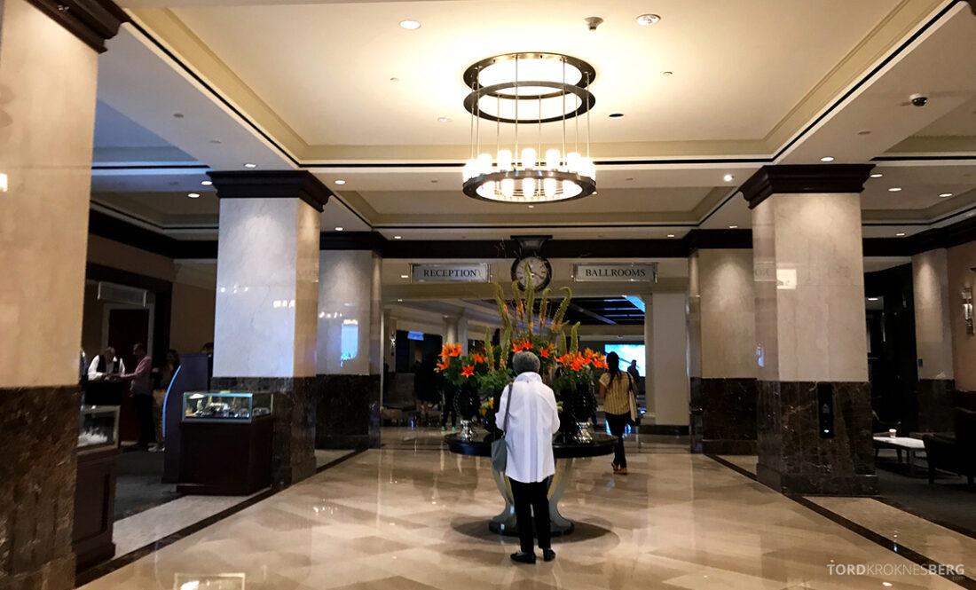 Sheraton New York Times Square Hotel lobby