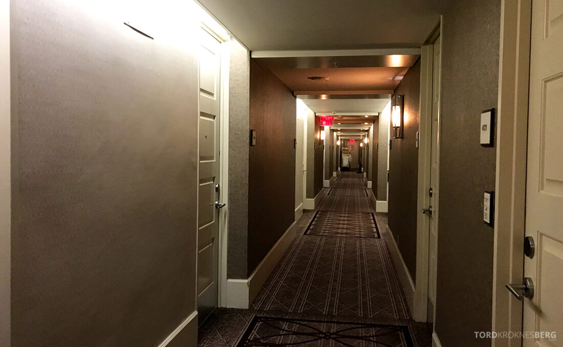 Sheraton New York Times Square Hotel korridor