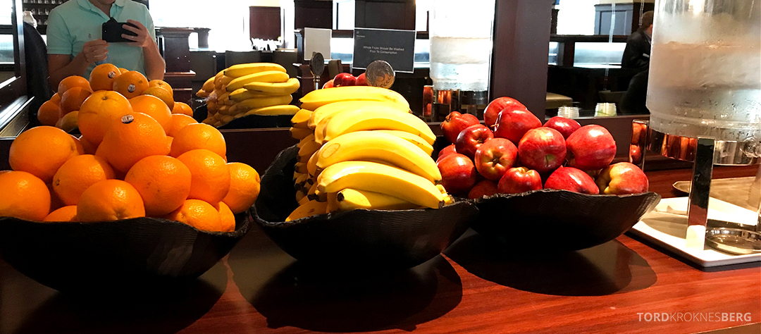 Sheraton New York Times Square Hotel Club Lounge frukt