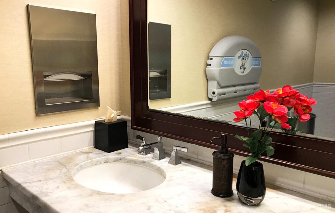 Sheraton New York Times Square Hotel offentlig toalett