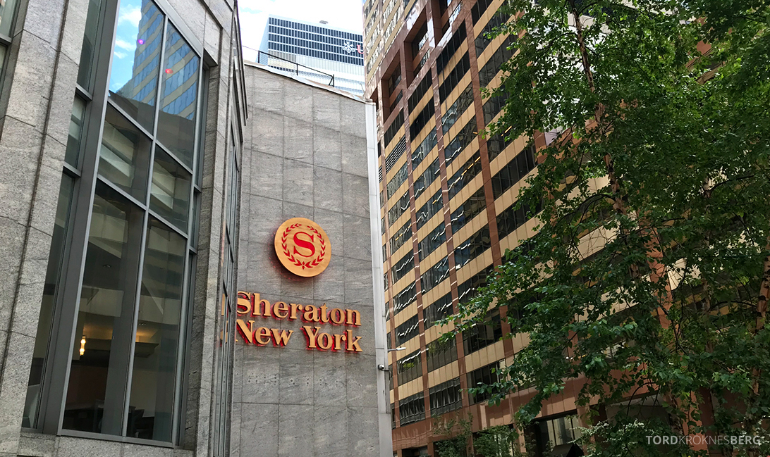 Sheraton New York Times Square Hotel logo