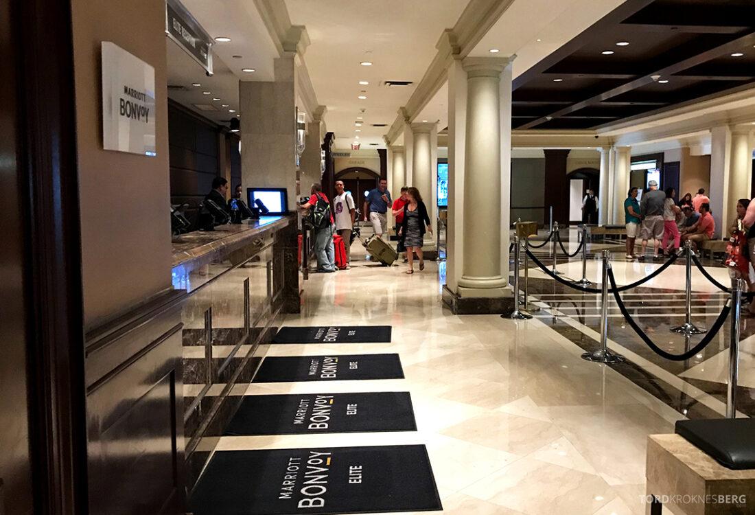 Sheraton New York Times Square Hotel Elite-innsjekk