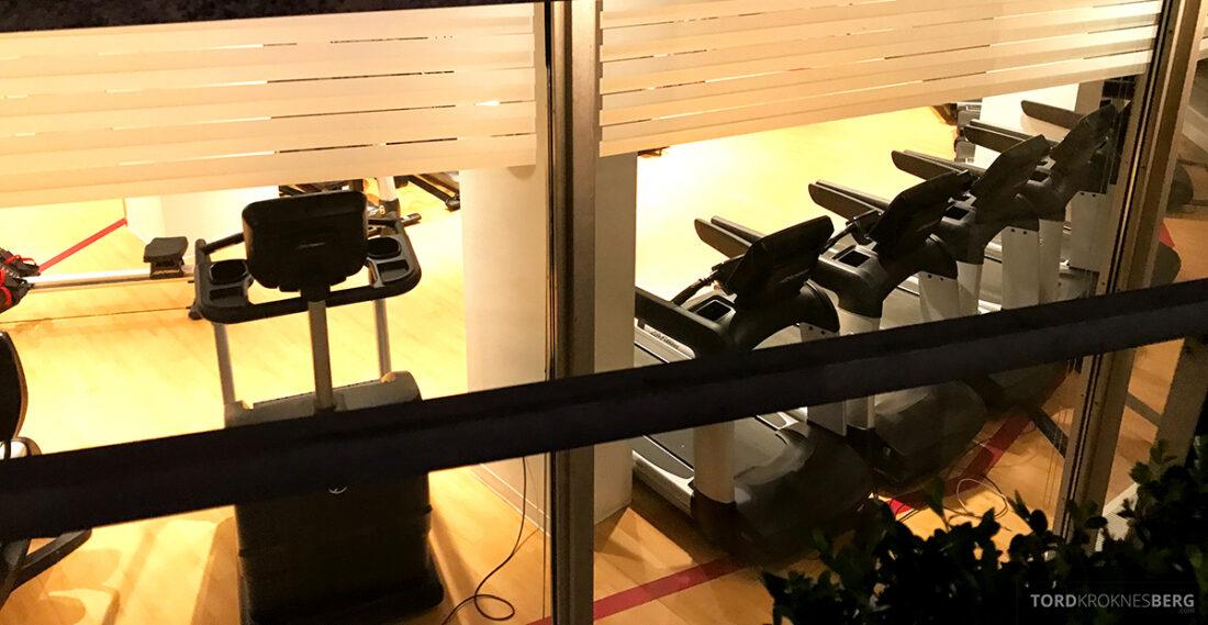 Sheraton New York Times Square Hotel tredemøller gym