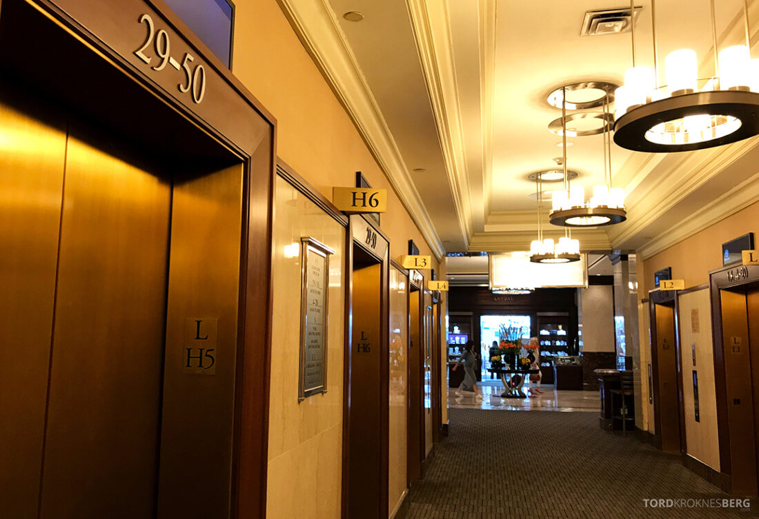 Sheraton New York Times Square Hotel heis