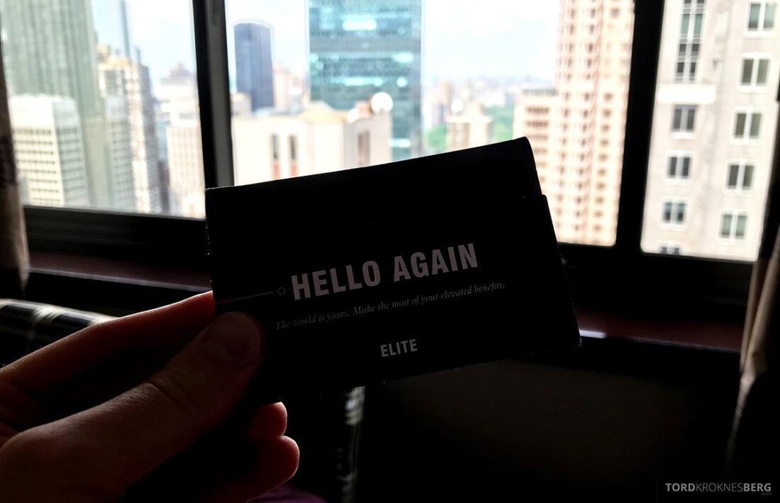 Sheraton New York Times Square Hotel Elite-kort