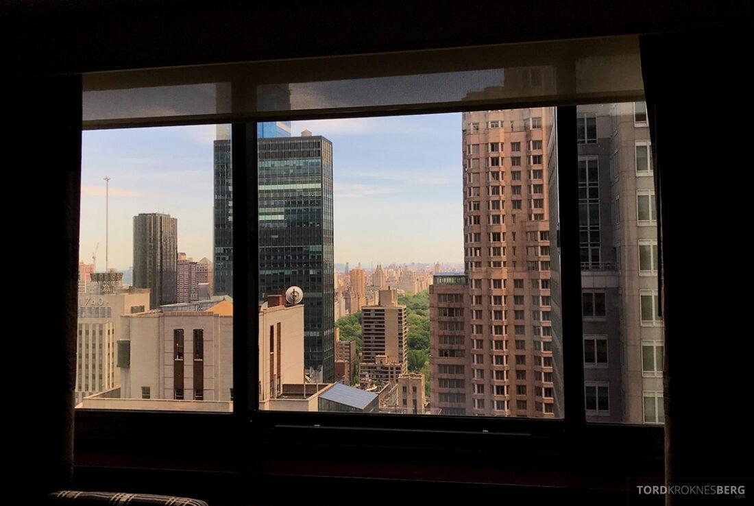 Sheraton New York Times Square Hotel utsikt