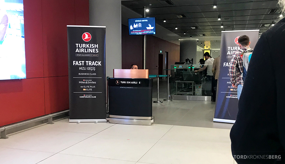 Turkish Airlines Economy Business Class Baku Istanbul Oslo fast track