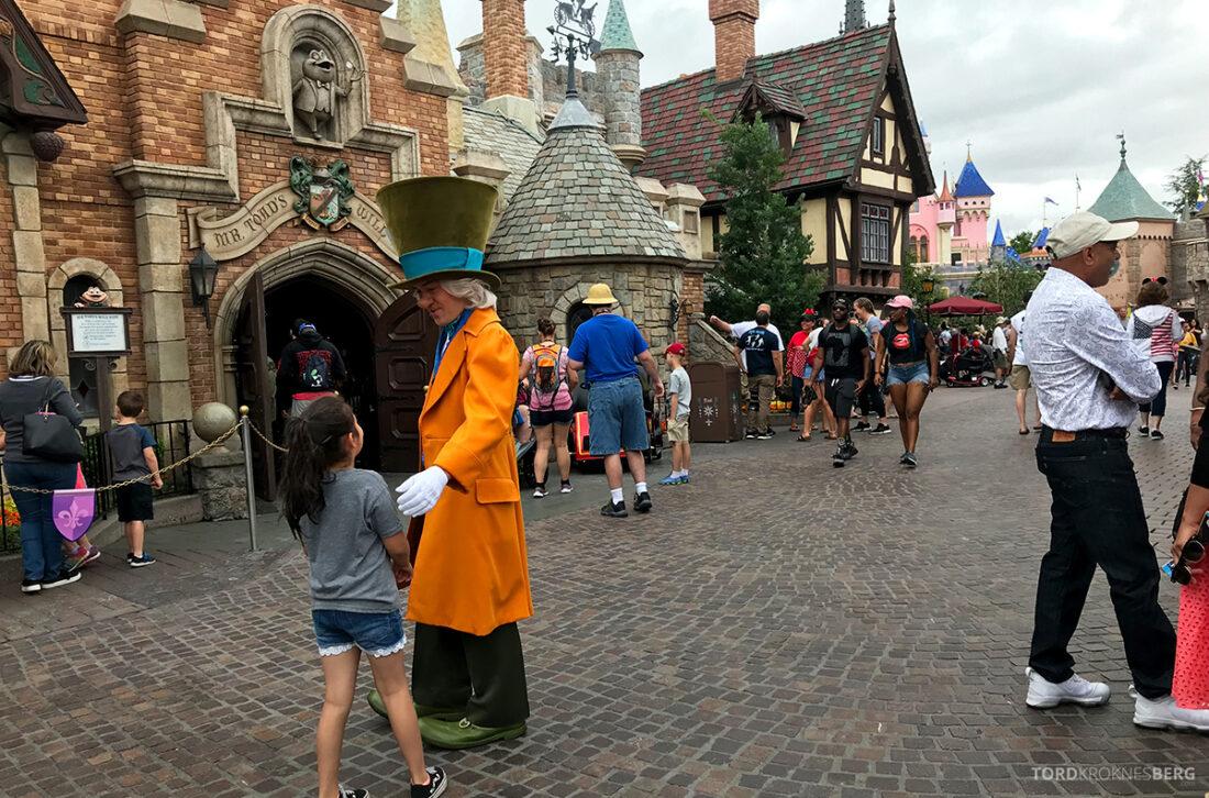 Disneyland California levende figurer