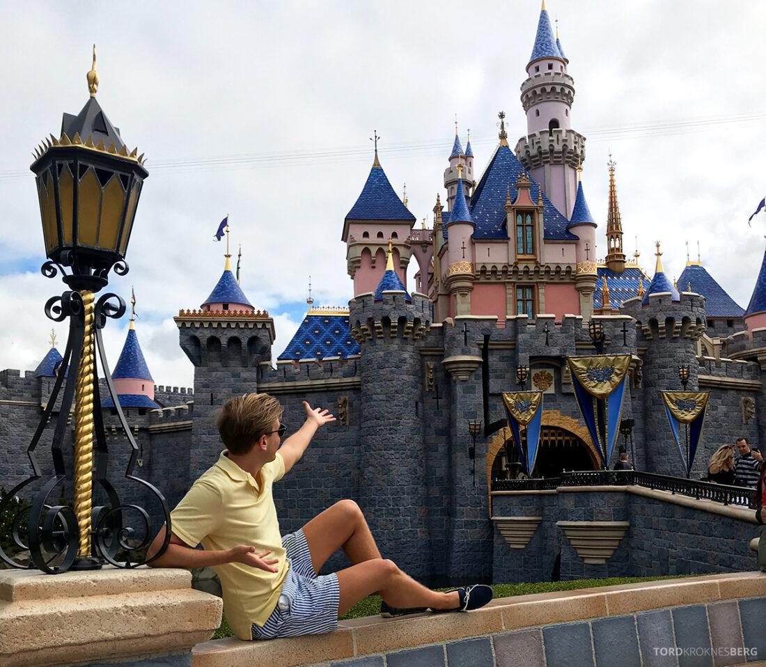Disneyland California Tord Kroknes Berg slott