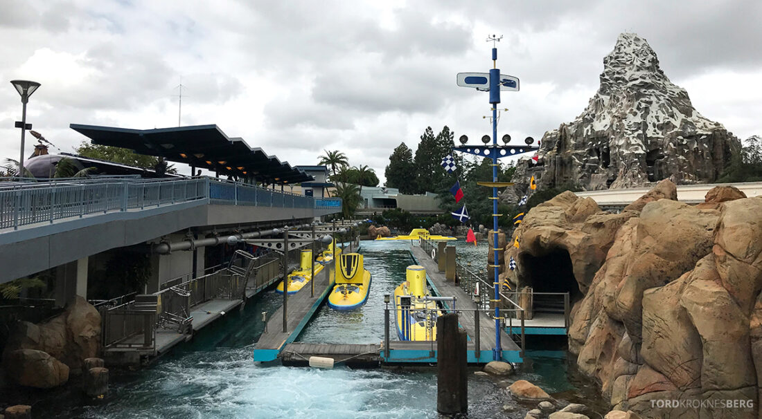 Disneyland California ubåt