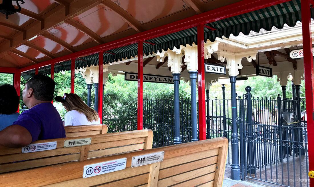 Disneyland California tog