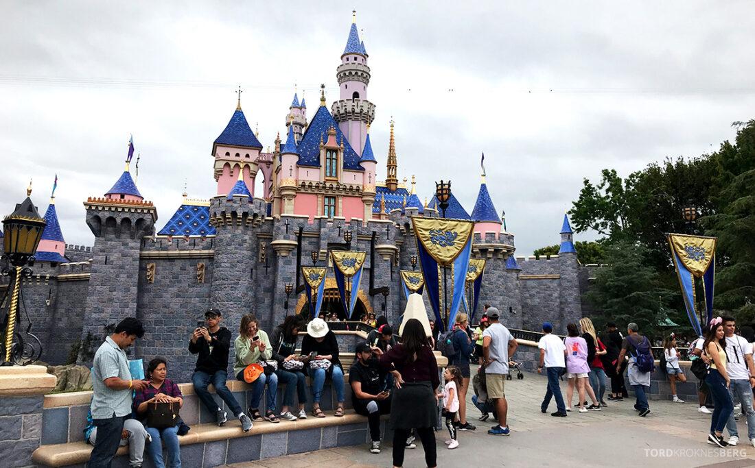 Disneyland California slottet
