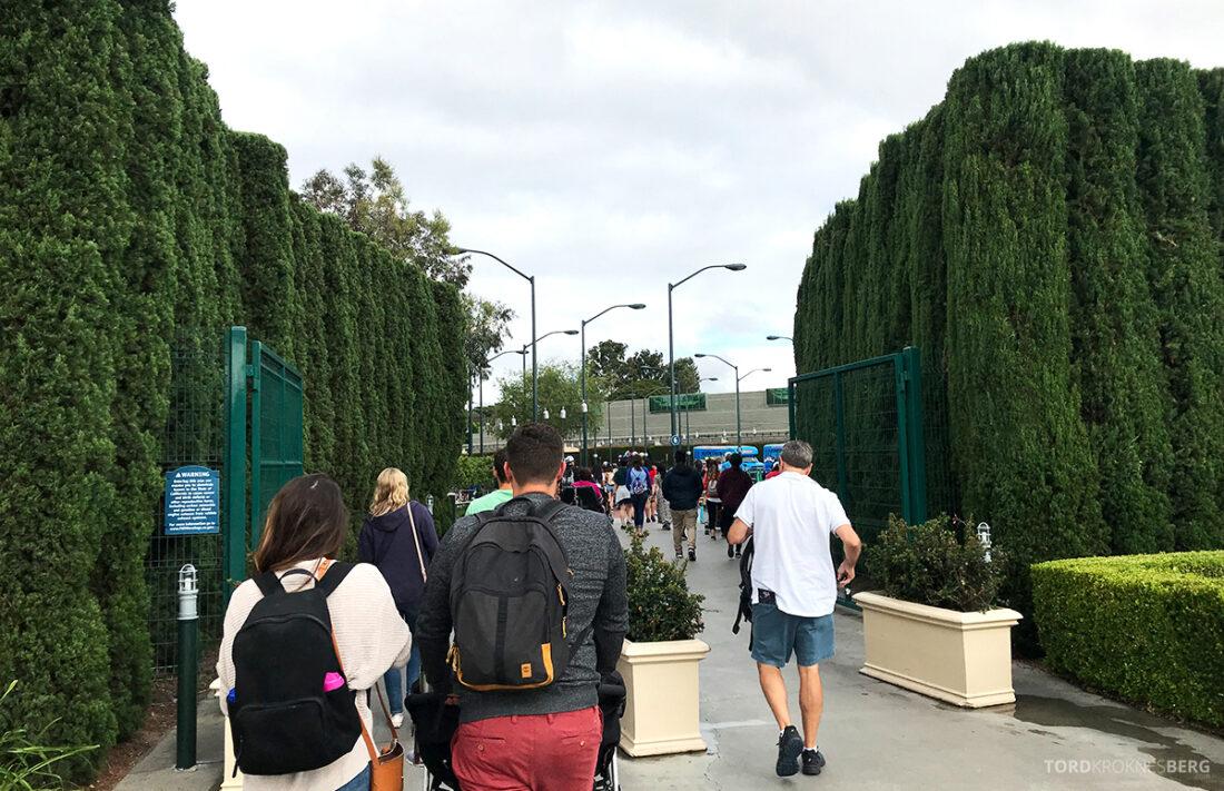 Disneyland California underveis