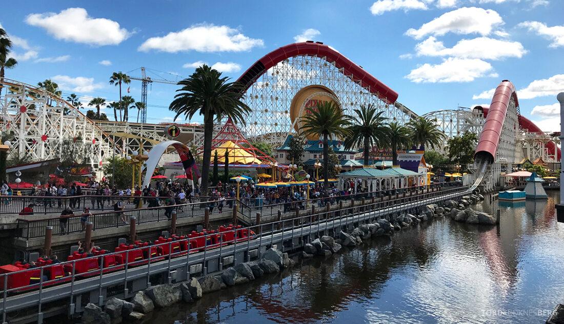 Disneyland California berg-og-dal-bane